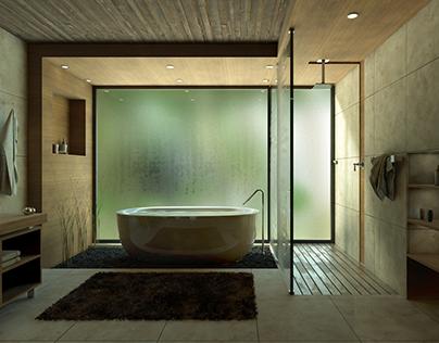 Render glass condensation effect