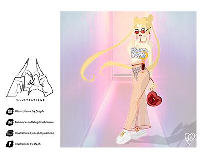 Millennial Sailor Moon Likes to ~R A V E~