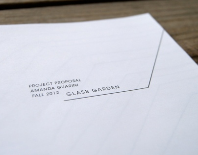 The Glass Garden Brief