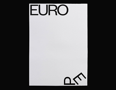 Slanted Europe Poster