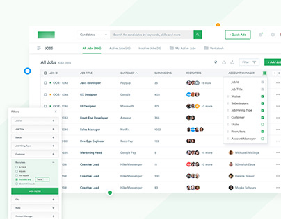 Applicant Tracking System - Redesign