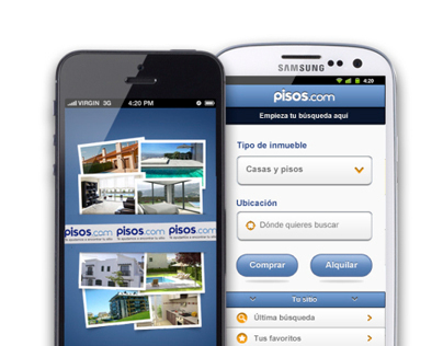 pisos.com - Android/iPhone app