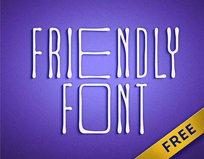 Friendly Font. Дружелюбный шрифт