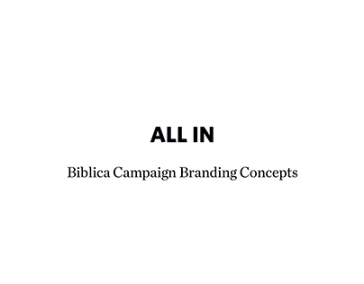 ALL IN Brand Project