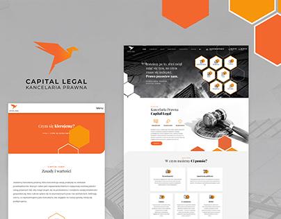 Capital Legal - strona www