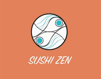 30 day logo challenge Sushi Zen