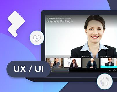 ImpressView. UX and UI system design.
