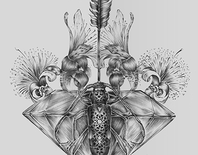 Pencil drawing IX
