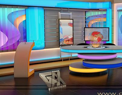 Lahore Rang News Room