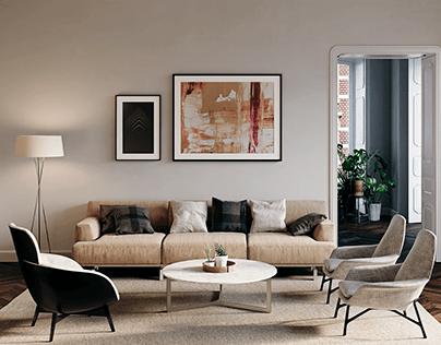 Arch Viz: Apartment 01