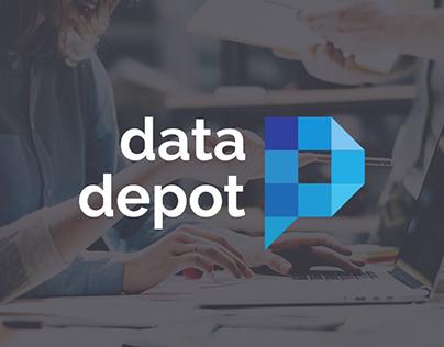 Data Depot: branding