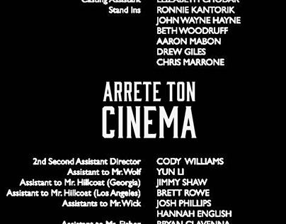 Arrête Ton Cinema 1/6