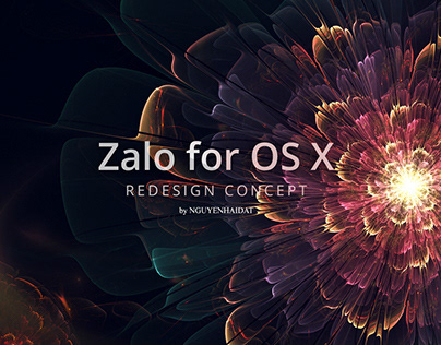 Redesign Zalo for OS X