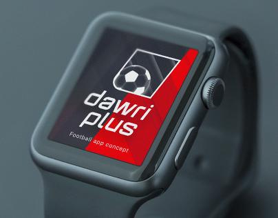 Dawri Plus iWatch concept