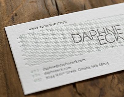 Daphne Eck Rebrand