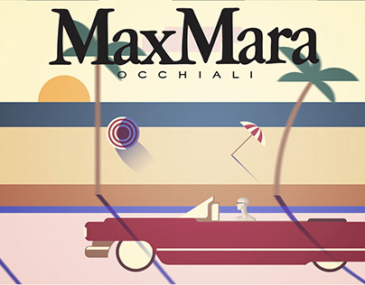 Motion Design and 3D animation for MaxMara