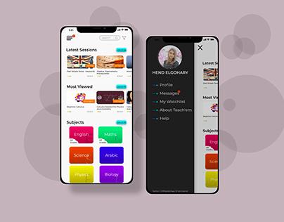 E-Learning Mobile App