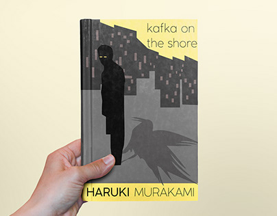 Book Cover Design Project | Kafka on the Shore