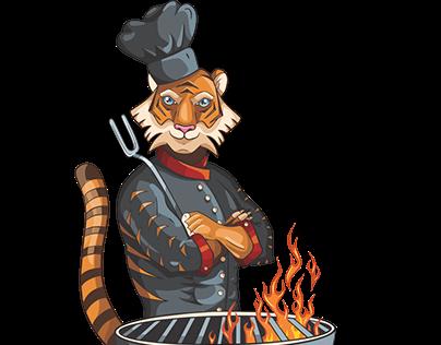 Golden Fire Logo