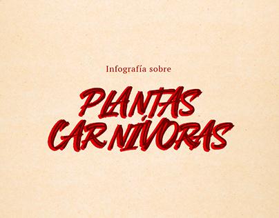 Infografía - Plantas Carnívoras