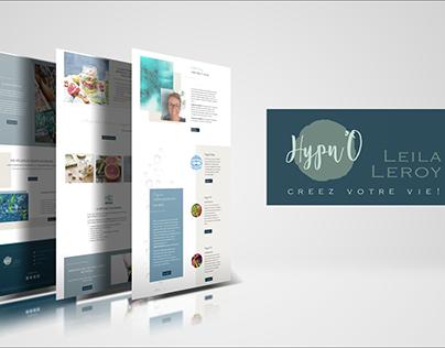 Hypn'O | Création identité visuelle & site web