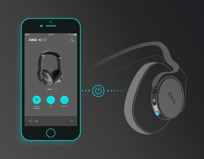 AKG Headphones app