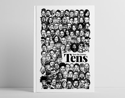 TENS illustration book, layout & design