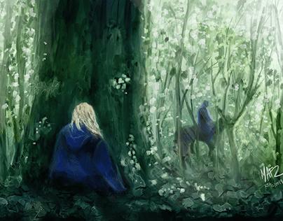Runaway - The Witcher fan art