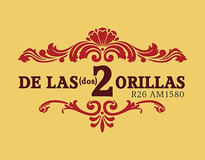 """Logo """"De las 2 Orillas"""""""
