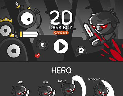 2D DARK BOY Game Kit