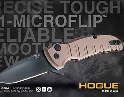 Hogue Inc. Magazine Advertisement Campaign