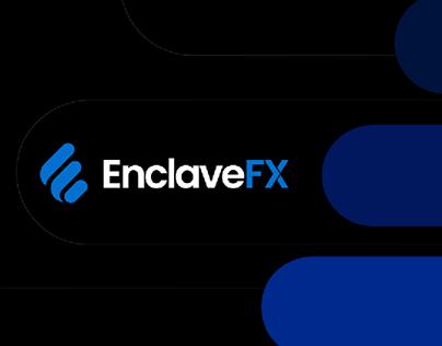 Enclave FX Branding Graphics & Forex Web Design