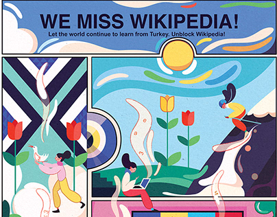 "WIKIPEDIA POSTER / ""WE MISS TURKEY!"