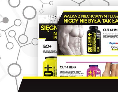 Bodybuilding magazine ads
