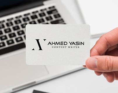 AY - Personal Logo