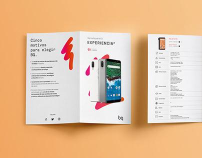 Offline - Folleto Díptico - Comparativa Smartphones
