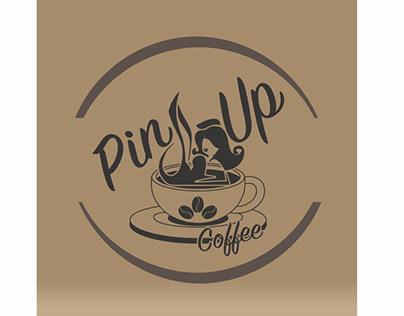 Diseño de Imagen Corporativa para Pin Up Coffee.