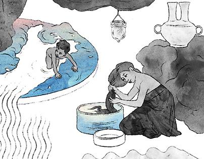 Illustrations for Akadeemia Magazine