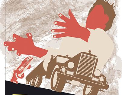 DUEL MOTION POSTER Original poster graphics