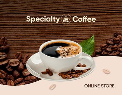 Интернет-магазин Specialty Coffee   Online Store