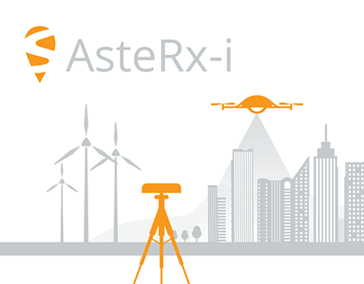 AsteRX-i brochure design