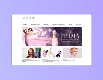 Avon Corporate Site