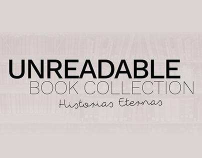 UNREADABLE BOOK COLLECTION