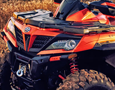 CFMOTO CFORCE 850 ATV Design