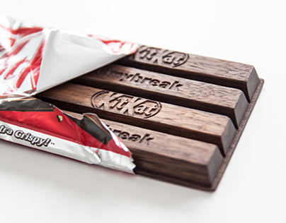 Wood Chocolate 2 - KITKAT
