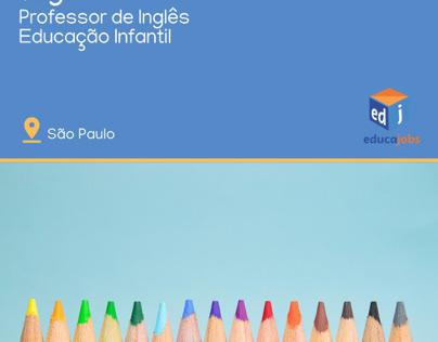 Ensino Infantil - Professor de Inglês