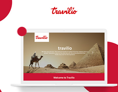 Web Design UI/UX | Travilio