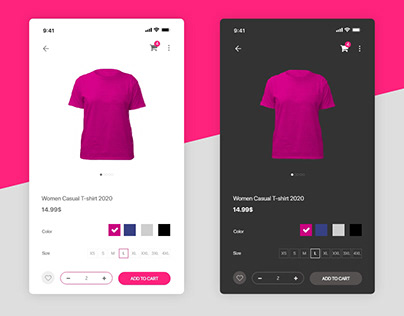 Product Page UI