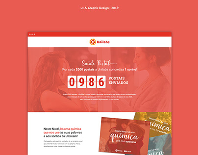 Unilabs Campaign design & landing page