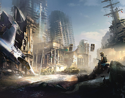 After Collapse — Concept Art